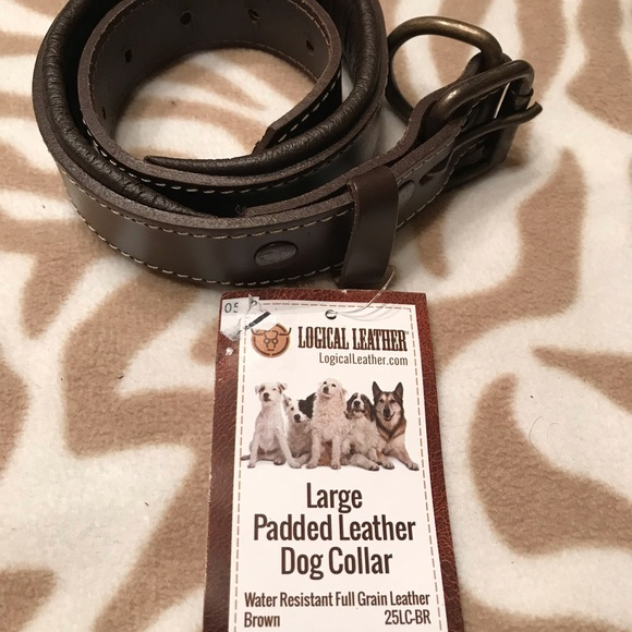 Logical Leather Other - Padded Leather Dog Collar
